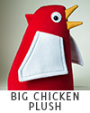 Marietta Big Chicken custom plush