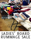 Annual Ladies' Board Rummage Sale