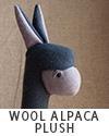 Handmade Wool Alpaca Plush